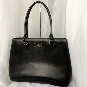 Kate Spade Heavy Molded Large Leather Attache Bag